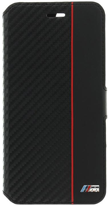BMW M Collection pouzdro typu kniha pro iPhone 7/8 Plus, černé