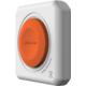 PowerCube multifunkční zásuvkový systém, 4x zásuvka, dálkový ovladač,1,5m, šedá/oranžová
