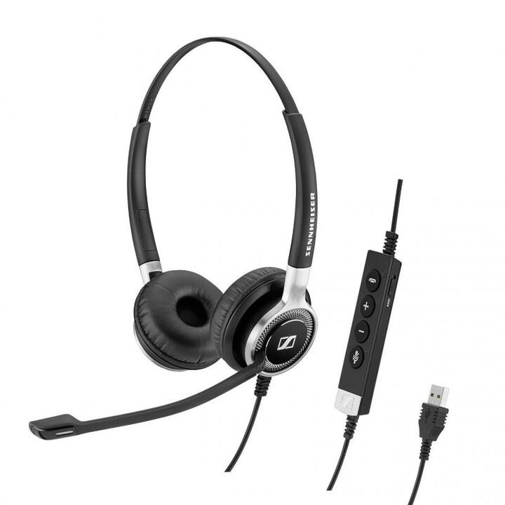 Sennheiser SC 660 ANC USB, černá