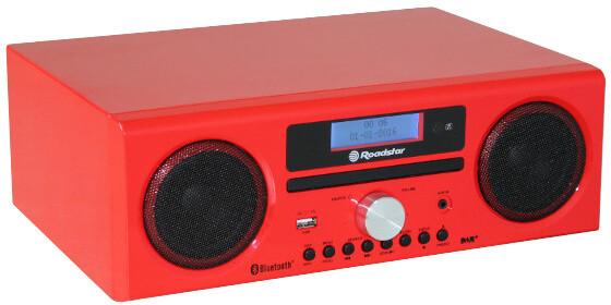 Roadstar HRA-9D+BT, červená