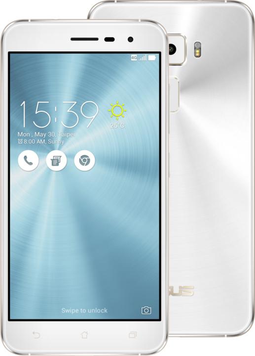 ASUS ZenFone 3 ZE520KL-1B011WW, bílá