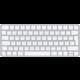 Apple Magic Keyboard (2021), CZ, bílá