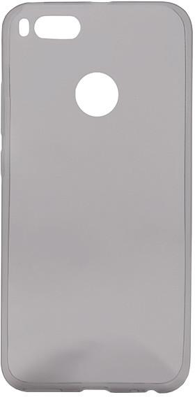 EPICO pružný plastový kryt pro Xiaomi Mi A1 RONNY GLOSS - černý transparentní