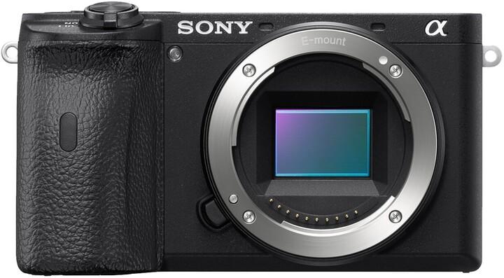 Sony Alpha 6600, tělo, černá