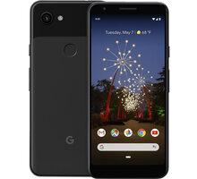 GOOGLE Pixel 3a, 4GB/64GB, černá  + Elektronické předplatné čtiva v hodnotě 4 800 Kč na půl roku zdarma