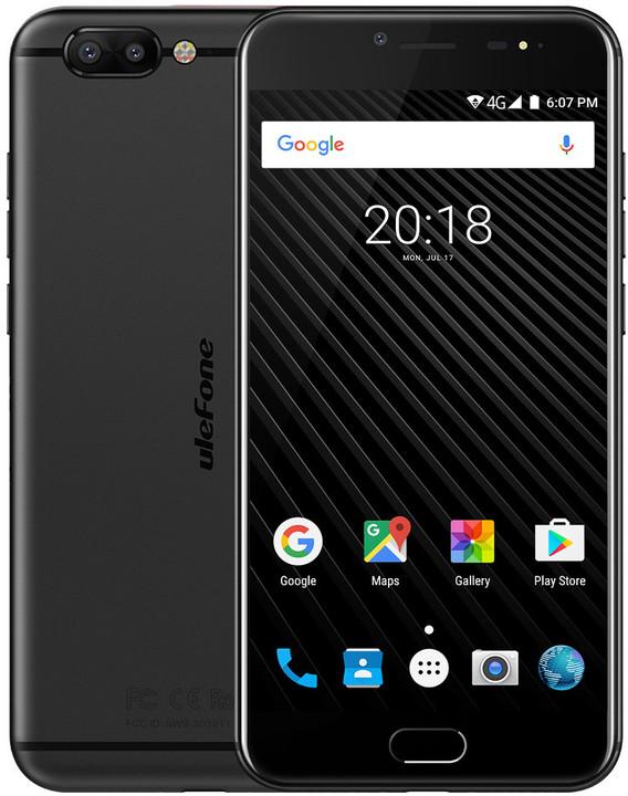 Ulefone T1, 64GB, černá
