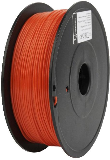 Gembird tisková struna (filament), PLA+, 1,75mm, 1kg, červená