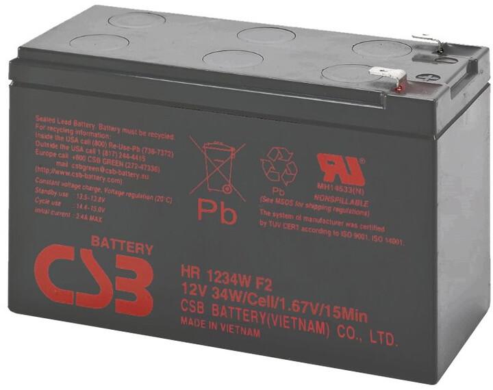 Eaton náhradní baterie pro UPS 12V/9Ah