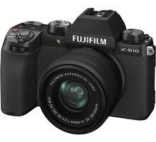 Fujifilm X-S10 + XC15-45mm, černá - 16670106