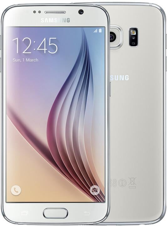 Samsung Galaxy S6 - 32GB, bílá