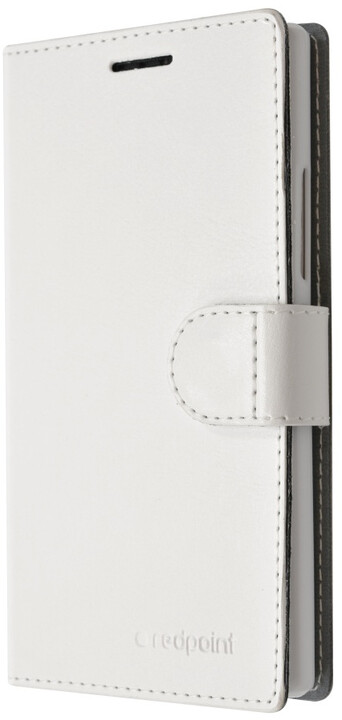 FIXED flipové pouzdro pro Huawei P9, bílá