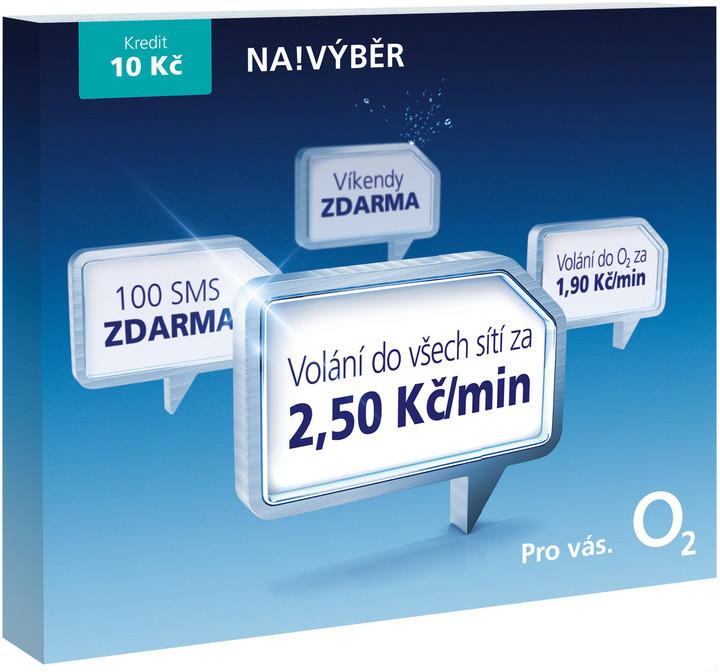 O2 Sim Karta Na Vyber 2 50 Kredit 10 Kc Smallpo2 10v26 Czc Cz
