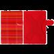 "PORTCASE pouzdro na tablet PC, TBL-470RS, 7"", EKO kůže, červené"