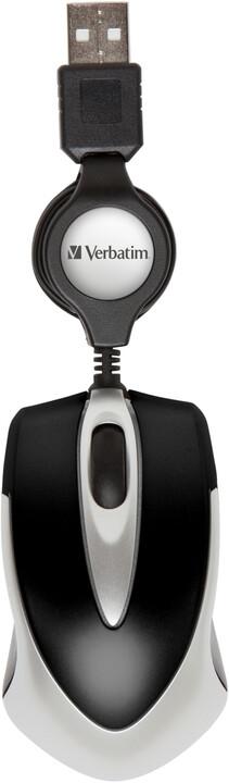 Verbatim Go Mini Optical Travel Mouse, černá
