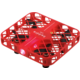 JJR/C D3 Dron 2.4GHz, čtyřvrtulový, červená v hodnotě 750 Kč