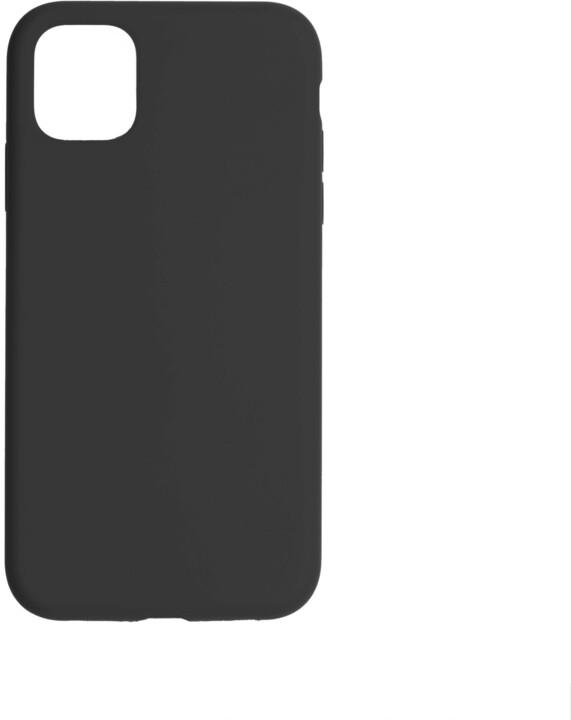 FIXED silikonový kryt Flow pro Apple iPhone 11, černá