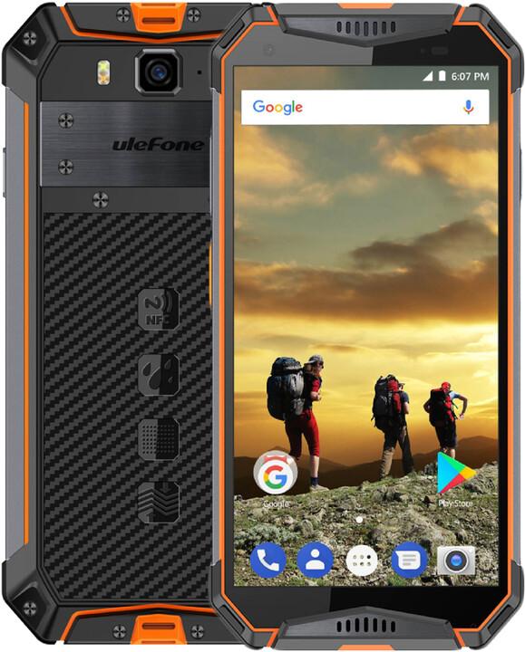 UleFone Armor 3W, 6GB/64GB, Orange