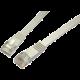 Solarix Patch kabel plochý CAT6 UTP LSOH 1m šedý non-snag-proof