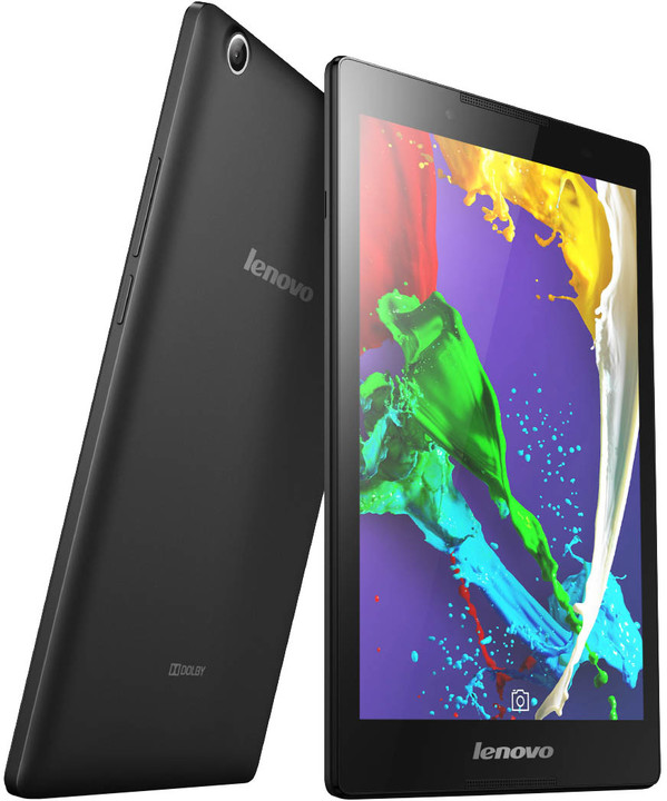 """Lenovo IdeaTab 2 A8-50F 8"""" - 8GB, ebony"""
