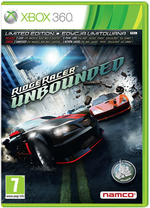 Ridge Racer Unbounded - X360