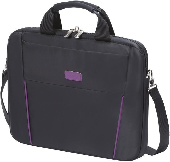 """DICOTA Slim Case BASE 12-13.3"""", černá/fialová"""