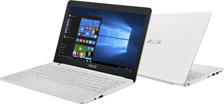 ASUS VivoBook E203NAH, bílá