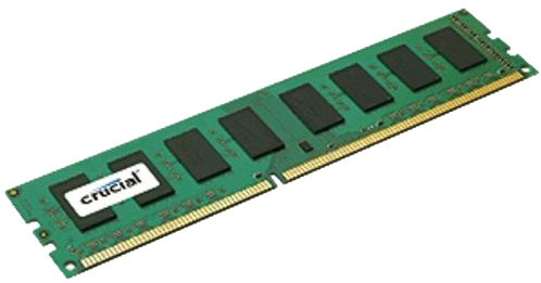 Crucial 8GB DDR3L 1600 Dual Voltage