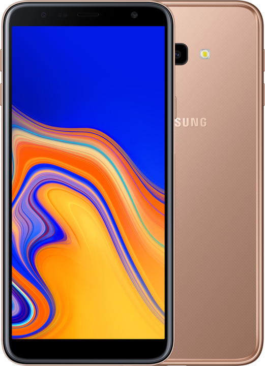 Samsung Galaxy J4+, Dual Sim 2GB/32GB, zlatá