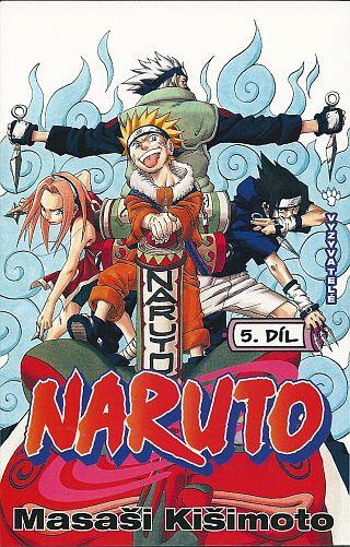 Komiks Naruto: Vyzyvatelé, 5.díl, manga