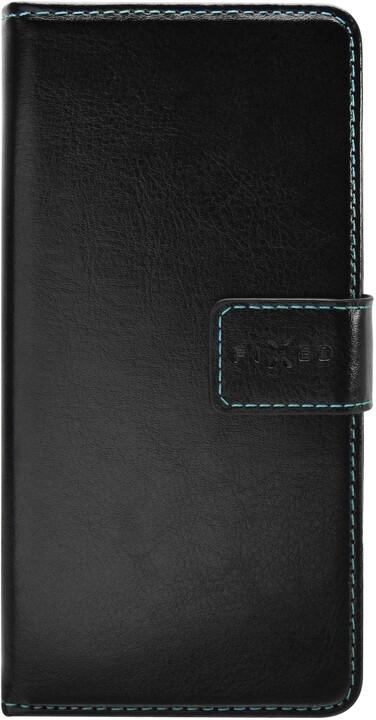 FIXED flipové pouzdro Opus pro Xiaomi Redmi 9A, černá