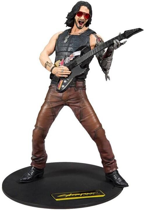 Figurka Cyberpunk 2077 - Johnny Silverhand (McFarlane, 30cm)