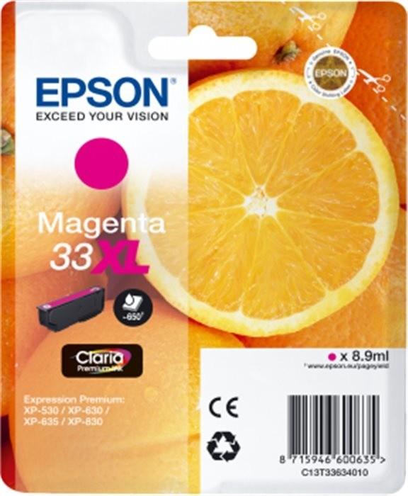 Epson C13T33634010, XL, purpurová