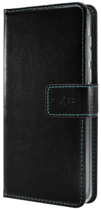 FIXED Opus pouzdro typu kniha pro Huawei Mate 10 Lite, černé