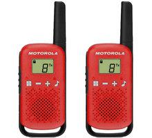 Motorola TLKR T42, červená - B4P00811RDKMAW