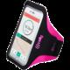 """CELLY ARMBAND sportovní neoprénové pouzdro, velikost XXL pro telefony do 6,2"""", růžové"""