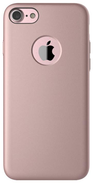 Mcdodo zadní magnetický kryt pro Apple iPhone 7, růžovo-zlatá