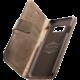 CellularLine prémiové kožené pouzdro typu kniha Supreme pro Samsung Galaxy S8 Plus, hnědé