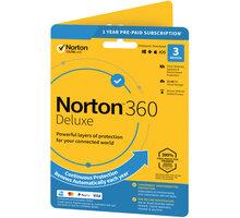 Symantec Norton 360 Deluxe 25GB + VPN 1 uživatel, 3 zařízení, 1 rok  + O2 TV s balíčky HBO a Sport Pack na 2 měsíce (max. 1x na objednávku)