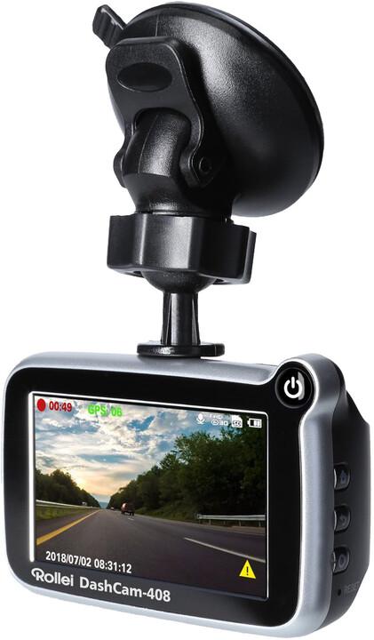 Rollei CarDVR-408, kamera do auta