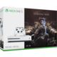 XBOX ONE S, 500GB, bílá + Middle-Earth: Shadow of War