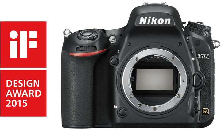 Nikon D750, tělo