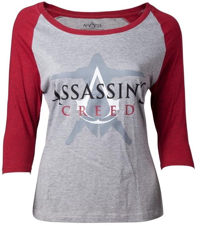 Tričko Assassin's Creed - Crest Logo, dámské (S)