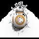 3D světlo Star Wars - BB-8