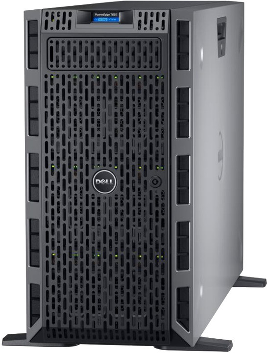 Dell PowerEdge T630 TW /E5-2620v4/16GB/300B SAS 10K/H730/750W/Bez OS