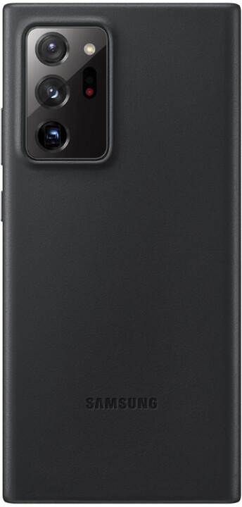 Samsung kožený kryt pro Samsung Galaxy Note20 Ultra, černá