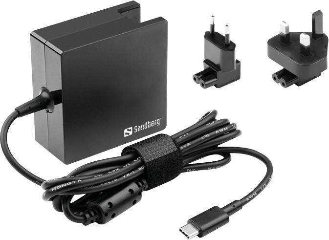 Sandberg USB-C AC Charger 65W EU+UK