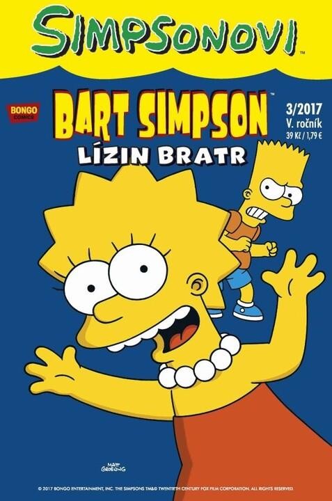 Komiks Bart Simpson: Lízin bratr, 3/2017