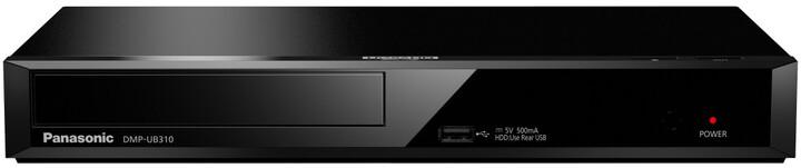 Panasonic DMP-UB310, černá
