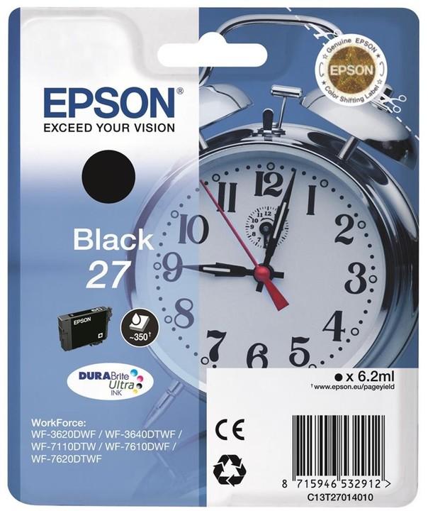 Epson C13T27014010, černá