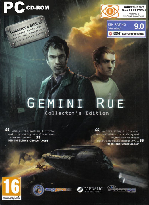 Gemini Rue Collectors Edition - PC